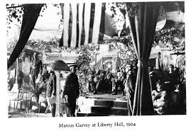 marcus garvey at liberty hall african heritage city  marcus garvey at liberty hall 1924