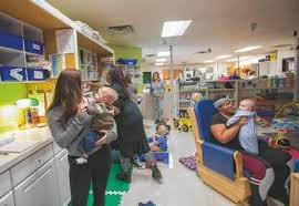 Staying On Track A Handful Of Iowa Schools Offer Child Care For