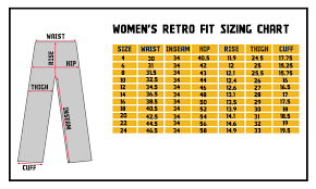 Waist Size Chart For Female Draggin Jeans Sizing Chart