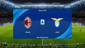 PES 2021 | AC Milan vs Lazio - Italy Serie A | 23/12/2020