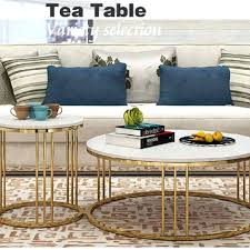 short coffee table marble coffee table small round table simple living room modern creative small apartment