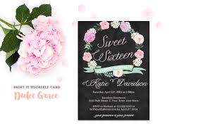 sweet 16 invitations templates unique sweet 16 invitation cards new sweet 16 birthday invitation templates of