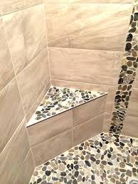tile shower seat tile shower seat stone shower bench river stone and ceramic tile shower stall tile shower seat