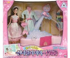 Mimi phiên bản tắm hồ Cả set giá... - Búp Bê Barbie Hàn Quốc