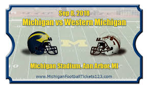 Michigan Wolverines Vs Western Michigan Broncos Football