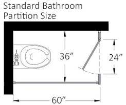 Bathroom Dividers Typical Toilet Stall Partitions Dimensions Harbor City Supply