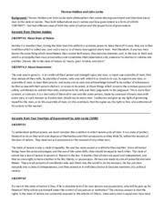 john locke study resources 2 pages thomas hobbes and john locke