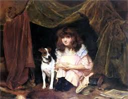 british paintings august 2016 the hiding place by charles burton barber