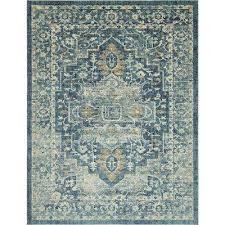 oslo navy blue 10 x 13 rug