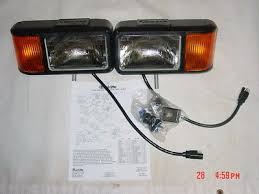 snowplow light kit universal halogen snow plow lights • 146 85 curtis sno pro 3000 plow lights snowplow light kit truck lite ford chevy dodge