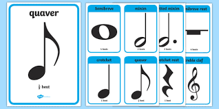 Music Notes Cards Musical Note Musical Note Cards