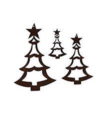 Edelrost Christbaumschmuck Und Weihnachtsbaumschmuck Tanne 1
