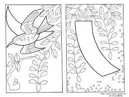 4月藤に不如帰藤に短冊の花札の塗り絵の下絵イラスト