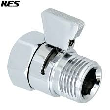 shower on off valve shower head shut off valve brass with metal handle polished chrome in