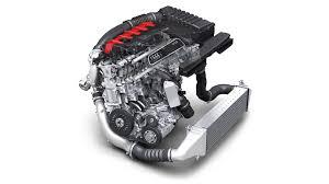 2 5 liter vijfcilinder tfsi motor in de audi rs 3