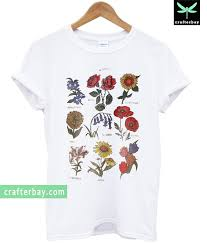 Flower Chart T Shirt Future State Flower Chart T Shirt