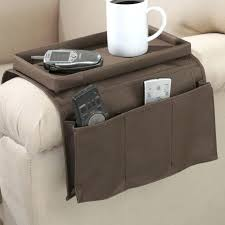 remote control organizer stylish armchair holder pattern brown leather for inspirations tv wall mounted