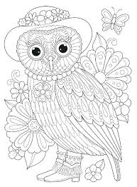 Free Owl Coloring Pages Owl Coloring Pages To Print Barn Coloring