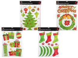 Fenstersticker Weihnachten Merry Christmas Fensterdeko Weihnachtsbaum Fenstertattoo Fensterbilder Haftende Fenster Aufkleber Alsino Weihnachtsmützen