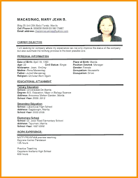Resume Format 2018 Magnificent Resume Template 28 Malaysia Together With Resume Format In Word
