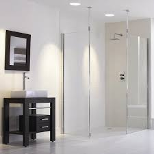 Walk In Shower No Step | Frameless Showers by Bathroom Direct