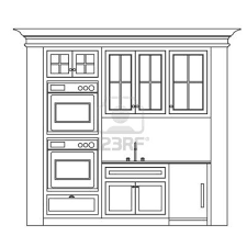 Autocad Kitchen Design Painting