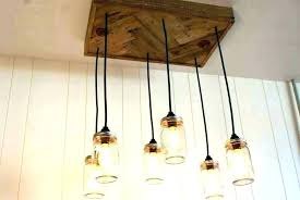 mason jar pendant light kits mason jar pendant chandelier lamp light kit ng lights best ideas