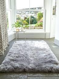 light grey rug this large long wool sheepskin rug creates a rustic or modern style depending light grey rug