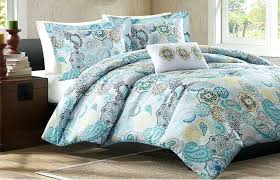 blue yellow quilt grey yellow turquoise bedding designs