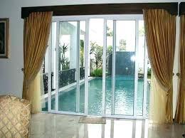 window coverings for patio door patio door window treatment ideas decoration sliding glass door curtain ideas