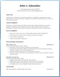 Example Of Great Resumes New Printable Resume Template Example Free Online Builder Templates