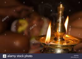 Kerala Oil Lamp Stock Photos Kerala Oil Lamp Stock Images Alamy