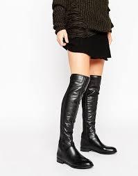 over the knee boots women aldo josepa zip leather knee boots black leather aldo shoes t42z6697
