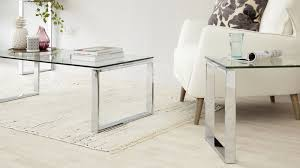 glass coffee table sets steve silver xavier round chrome and set hayneedle