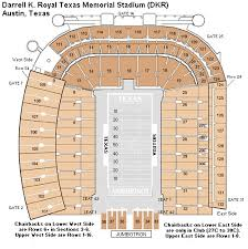Particular Darrell K Royal Stadium Seating Chart Darrell K