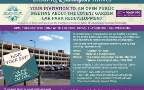 covent garden car park meeting