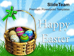 Warm Wishes Of Happy Easter Powerpoint Templates Ppt Themes