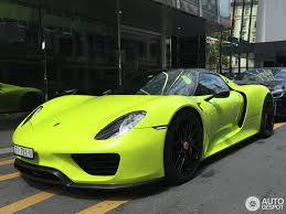 Weissach-package 918 Spyder