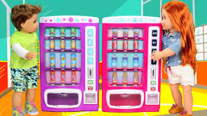 Toy Vending Machine Play Set Haul Unboxing & Review - YouTube