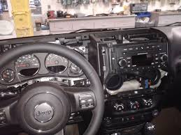 2012 13 wrangler aftermarket stereo install write up jeep Jeep Wrangler Speaker Harness now you can pop the whole radio guage cluster dash panel off, the rest is just held in place with pressure clips speaker harness for 2006 jeep wrangler