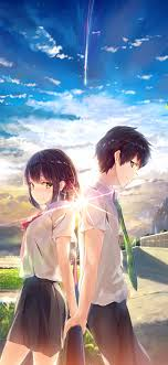 Cute Anime Couple Wallpaper Hd For ...