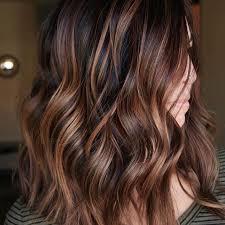Caramel Brown Hair Color Chart