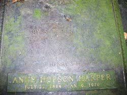Myra Raymond Haxtun Harper (1863-1923) - Find A Grave Memorial
