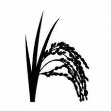 稲穂シルエット イラストの無料ダウンロードサイトシルエットac