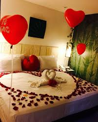 Romantic Bedroom For Her Romantic Decorated Hotel Room For His Her Birthday Romantic