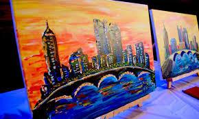 columbus skyline paint sip