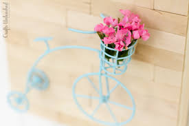 mini vintage bicycle diy wall art crafts unleashed
