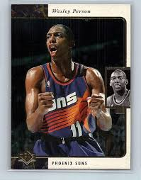 Amazon.com: Basketball NBA 1995-96 SP #106 Wesley Person #106 NM Suns:  Collectibles & Fine Art