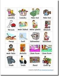 Task Charts For Preschoolers Free Preschool Chore Charts Preschool Chore Charts