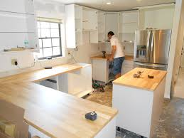 Diy Install Kitchen Cabinets Kitchen Cabinet Installation Cost Design Porter